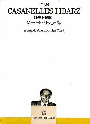Joan Casanelles I Ibarz (1904 - 1986): Joan B. Culla