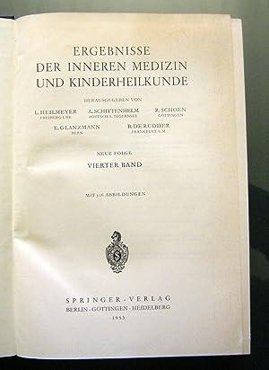 Ergebnisse der inneren medizin und kinderheilkunde. (14