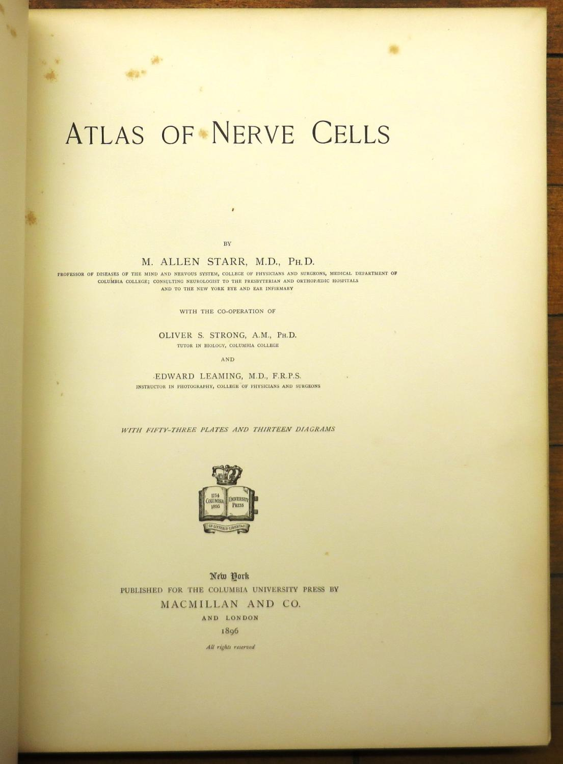 Atlas of Nerve Cells
