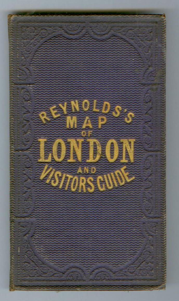 Reynolds S Map Of Modern London Divided Into Quarter Mile
