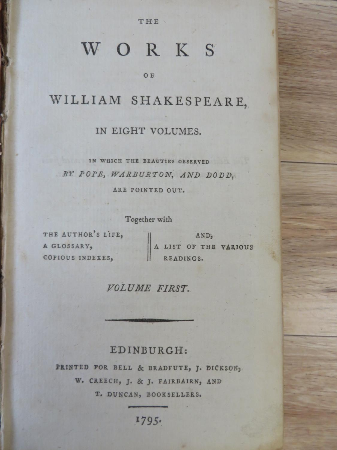 the life and works of william shakespeare This video provides a crash course introduction to william shakespeare's life,  plays, and poetry from 'two gentlemen of verona' to 'the tempest', we'll give.