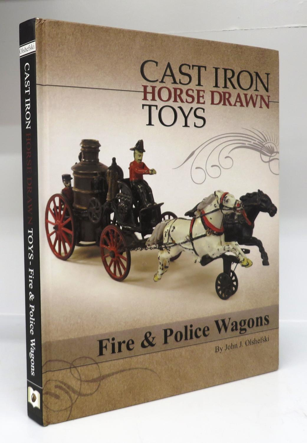 Cast Iron Horse Drawn Toys Fire Amp Police Wagons By
