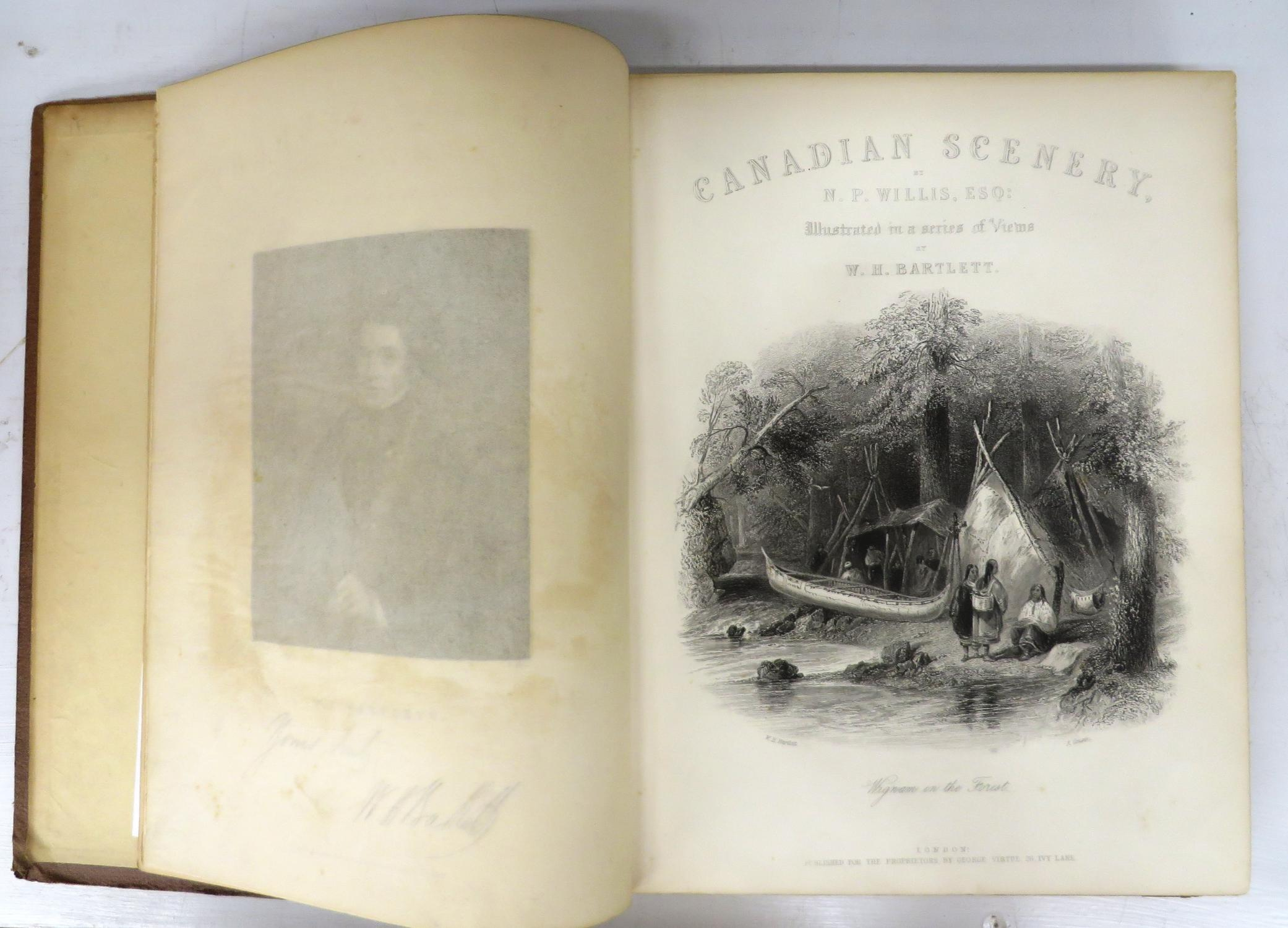 Canadian Scenery Illustrated From Drawings By W H