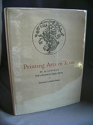 Printing Arts in Texas: LOWMAN, Al