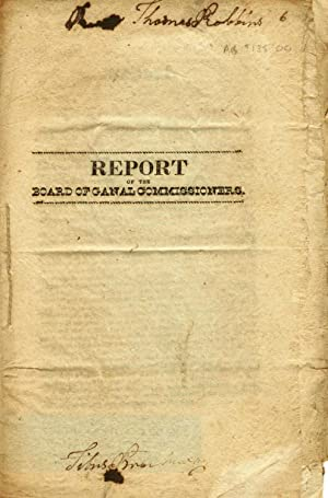 Report of the Board of Canal Commissioners