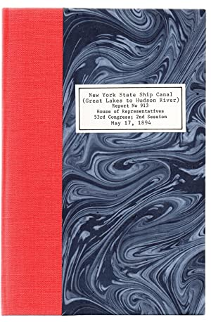Report on Ship Canal From the Great Lakes to the Navigable Waters of the Hudson River