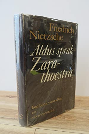 Sprak Zarathoestra Used Abebooks