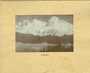 Mount Everest Christmas card: SHIPP, Horace