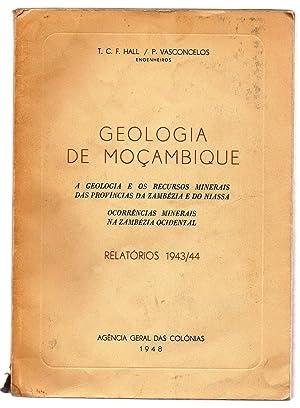 Geologia de Moçambique a Geologia e os: HALL, T. C.