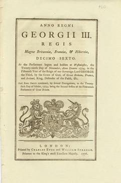 Anno Decimo Sexto Georgii III. Regis. CAP. XLVIII. An Act for allowing further Time for the Expor...