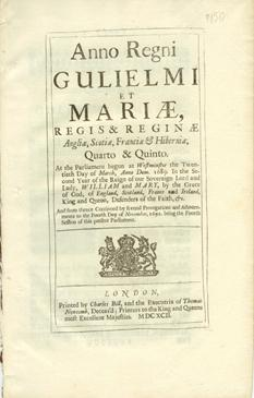 Anno Quarto & Quinto Gulielmi & Mariae. An Act for Continuing the Acts for Prohibiting all Trade ...