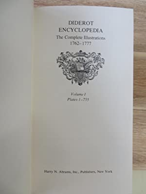 Diderot Encyclopedia: The Complete Illustrations 1762-1777: DIDEROT, Denis (ed.).