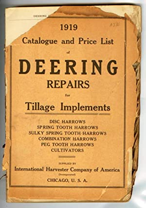 1919 Catalogue and Price List of Deering
