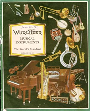 Wurlitzer Musical Instruments catalogue