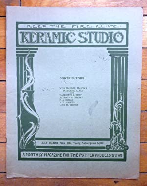 Keramic Studio July 1912