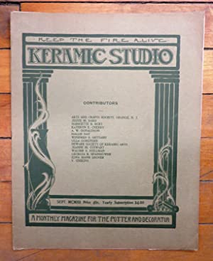 Keramic Studio September 1912