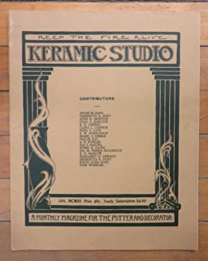 Keramic Studio January 1912