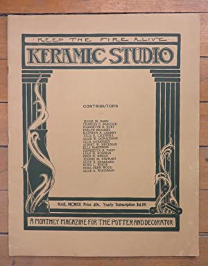 Keramic Studio March 1912
