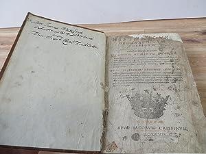 Dictionarium historicum, geographicum, poeticum: STEPHANO, Carolo [Estienne, Charles]