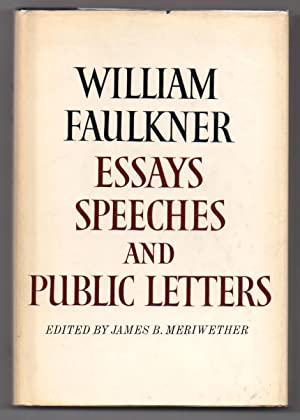 Apa Sample Essay Paper Essays Speeches  Public Letters Faulkner William Meriwether Thesis Statement For Analytical Essay also A Healthy Mind In A Healthy Body Essay Faulkner William Meriwether James B  Essays Speeches And Public  High School Admissions Essay