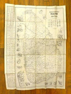 Motor Map of Ceylon: MADDAMS, W. S. (comp.)