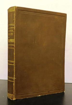 Ausführliches Handbuch der Photographie. Erster Theil. Erste Hälfte: EDER, Dr. Josef Maria