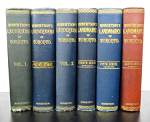 Robertson's Landmarks of Toronto: ROBERTSON, J. Ross