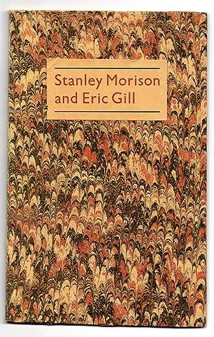 Stanley Morison and Eric Gill 1925-1933: CLEVERDON, Douglas