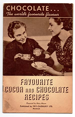 Favourite Cocoa and Chocolate Recipes: MOORE, Mary