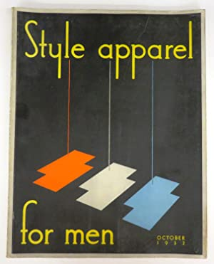 Style apparel for men, October 1932