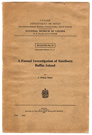 A Faunal Investigation of Southern Baffin Island
