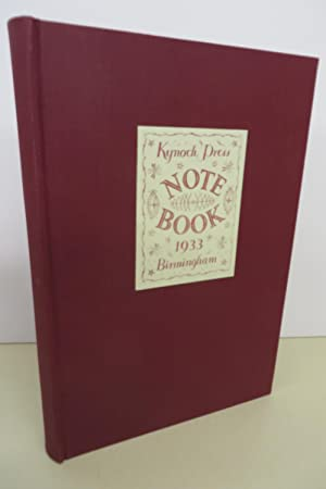 The St. Bride Notebook. With wood engravings by Eric Ravilious. Published to celebrate the centen...