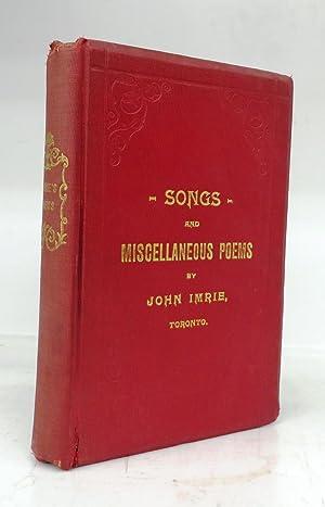 Poems: IMRIE, John