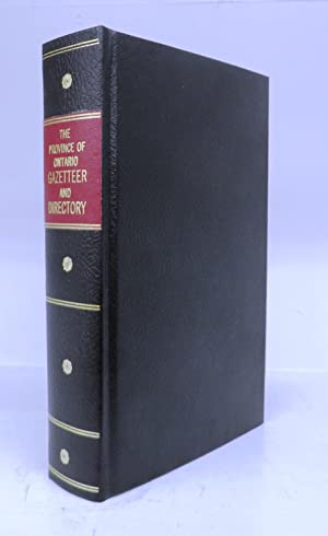 The Province of Ontario Gazetteer and Directory: MCEVOY, H. (ed.)