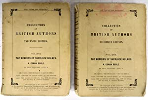 The Memoirs of Sherlock Holmes. In Two Volumes
