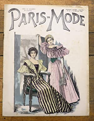 Paris-Mode, 21 Decembre 1895