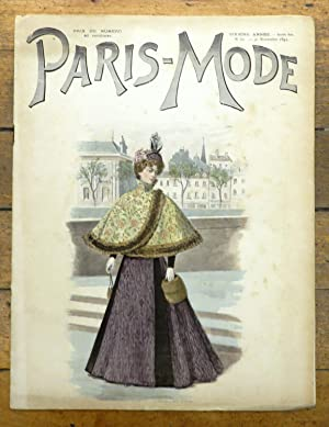 Paris-Mode, 30 Novembre 1895