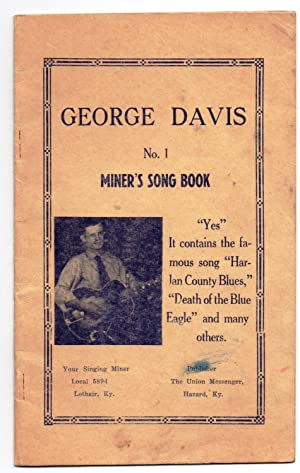 No. 1. Miner's Song Book