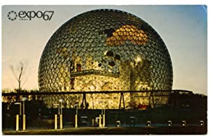 Expo 67 postcard signed by Robert F. Kennedy