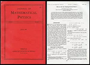 """Note on the Kerr Spinning-Particle Metric,"""" WITH: Newman, E.T.; Janis,"""