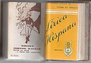 LÍRICA HISPANA. La primera revista de poesia en Venezuela. (42 núm.): LOBELL, CONIE ;...