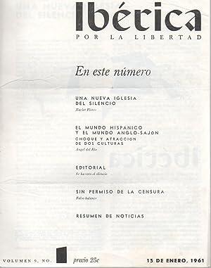 IBÉRICA POR LA LIBERTAD; vol. 9., nº 1, 6, 10, 11, 12.