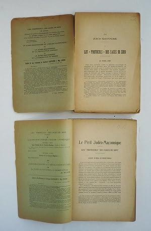 LE PÉRIL JUDÉO-MAÇONNIQUE I - II (Première: JOUIN.