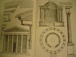 TERCERO Y QUARTO LIBRO DE ARCHITECTURA (Toledo, Ivan de Ayala, 1552).: SERLIO, SEBASTIÁN.