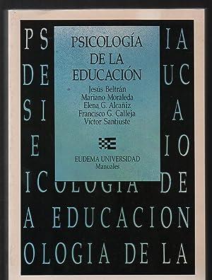 PSICOLOGÍA DE LA EDUCACIÓN.: VARIOS.