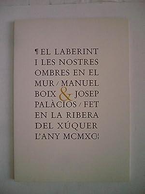 EL LABERINT I LES NOSTRES OMBRES EN: BOIX, MANUEL i