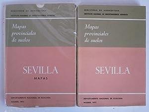 MAPAS PROVINCIALES DE SUELOS. SEVILLA. 2 VOL.: