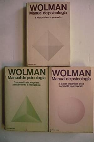MANUAL DE PSICOLOGÍA GENERAL. 3 VOL.