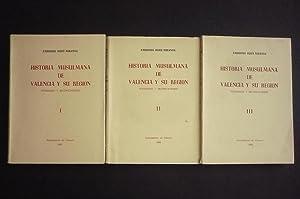 HISTORIA MUSULMANA DE VALENCIA Y SU REGIÓN.: HUICI MIRANDA, AMBROSIO.