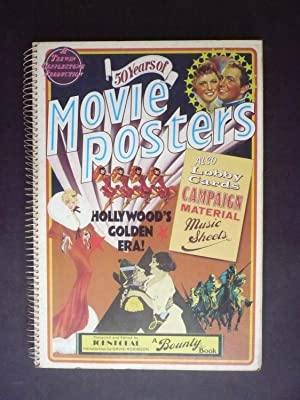 50 YEARS OF MOVIE POSTERS. HOLLYWOOD'S GOLDEN ERA! Also Lobby Cards, campaign material, music she...